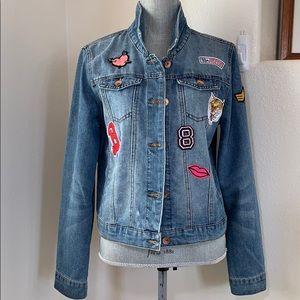 Ci Sono Denim Collection Jacket Women's Sz XL